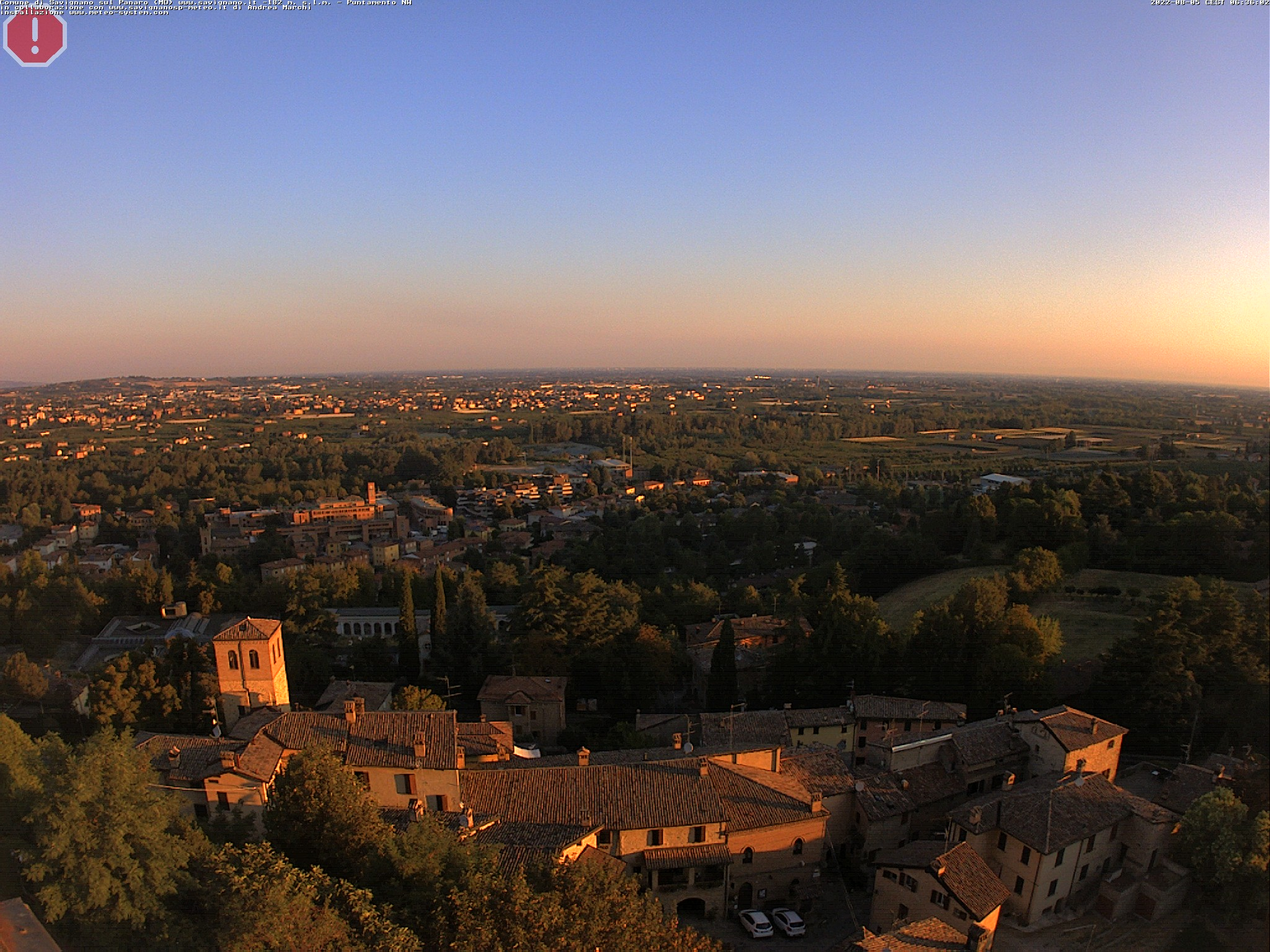webcam savignano